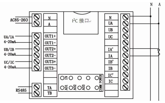 工业电炉控制系统,电炉温度控制器,可控硅功率调整器