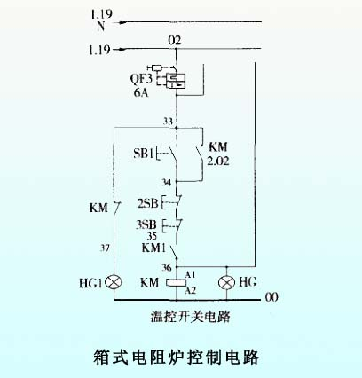 16a可控硅控电炉电路图